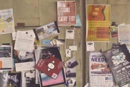 cartazes de promoção